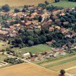 Luftbild von Brüheim