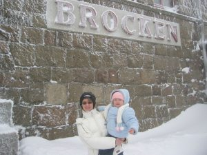 der Brocken im März 2007