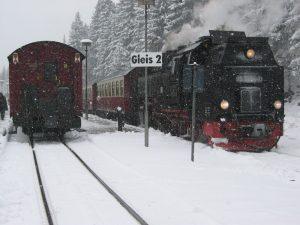 Bahnhof bei Schierke