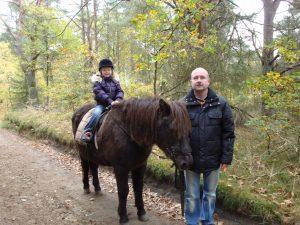 """Reiten mit """"unserem"""" Pferd"""