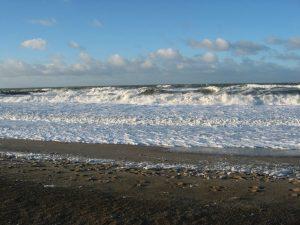 die Nordsee bei Agger