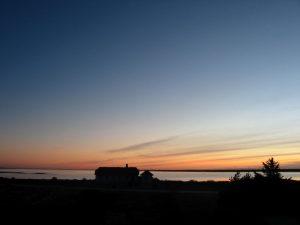 Blick aus unserem Ferienhaus