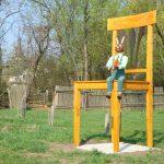 Stuhl zu Ostern
