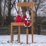Stuhl Weihnachten